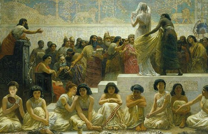 Рынки невест и другие традиции античности. | Фото: listverse.com